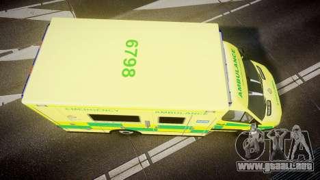 Mercedes-Benz Sprinter Ambulance [ELS] para GTA 4 visión correcta