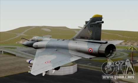 Dassault Mirage 2000-5 ACAH para GTA San Andreas left