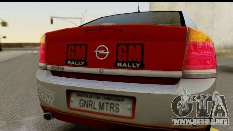 Opel Vectra para la visión correcta GTA San Andreas