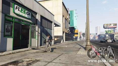 El robo de un banco v0.11 para GTA 5