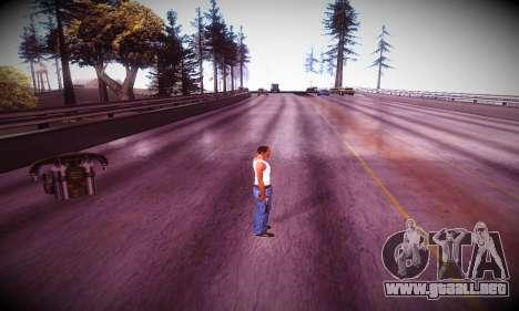 Ebin 7 ENB para GTA San Andreas sexta pantalla