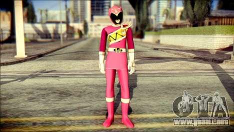 Power Rangers Kyoryu Pink Skin para GTA San Andreas