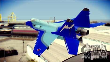 Mikoyan-Gurevich MIG-29K para GTA San Andreas left