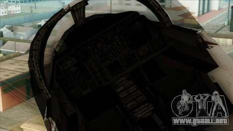 SU-27SK Indonesian Air Force para la visión correcta GTA San Andreas