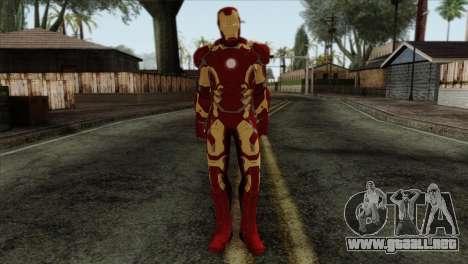 Iron Man Mark 43 Svengers 2 para GTA San Andreas
