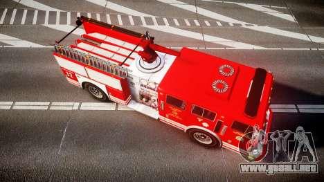 GTA V MTL Firetruck para GTA 4 visión correcta