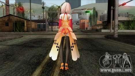 Inori (Guity Crown) para GTA San Andreas segunda pantalla