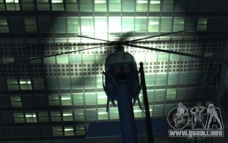 GTA III Police Valkyrie HD para GTA 4 visión correcta