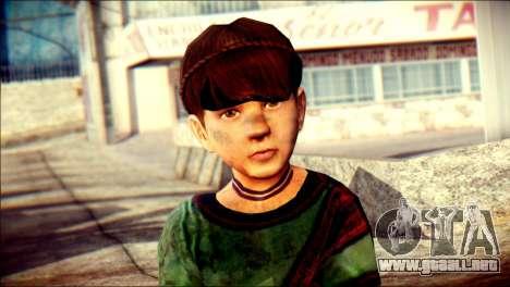 Child Vago Skin para GTA San Andreas tercera pantalla