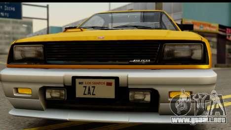GTA 4 Blista Compact para visión interna GTA San Andreas