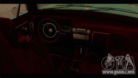 Chevrolet 56 para la visión correcta GTA San Andreas