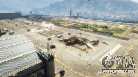 GTA 5 Ataque aéreo v1.1 segunda captura de pantalla