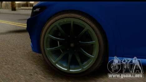 GTA 5 Dinka Blista para GTA San Andreas vista hacia atrás