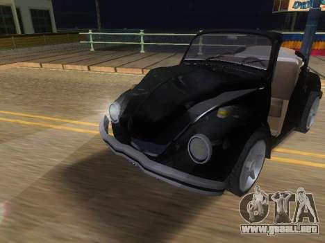 Volkswagen Beetle 1984 para la vista superior GTA San Andreas