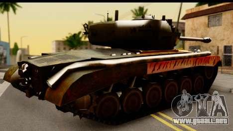 M26 Pershing Tiger para la visión correcta GTA San Andreas