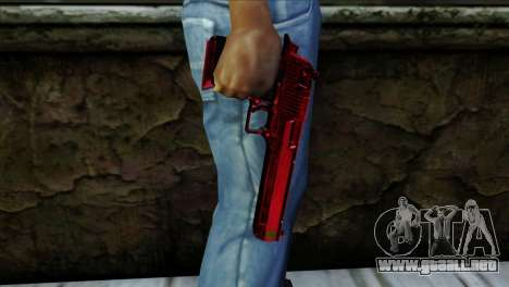 Desert Eagle Marruecos para GTA San Andreas tercera pantalla