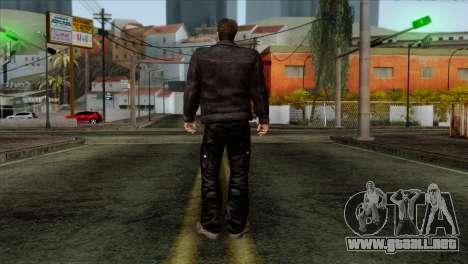 T-800 Skin para GTA San Andreas segunda pantalla