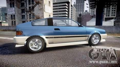 Dinka Blista Compact R para GTA 4 left