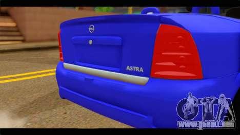 Opel Bertone Cabrio para GTA San Andreas vista hacia atrás