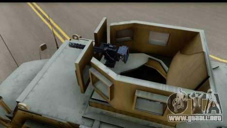 International MaxxPro MRAP para la visión correcta GTA San Andreas