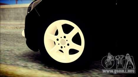 Ford Focus ДПС para GTA San Andreas vista posterior izquierda