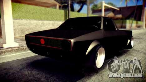 Volkswagen Caddy Widebody Top-Chop para GTA San Andreas