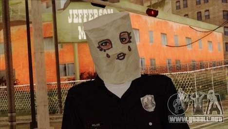 Skin 3 from Heists GTA Online DLC para GTA San Andreas tercera pantalla