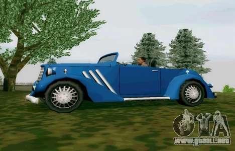 Hustler Cabriolet para GTA San Andreas left