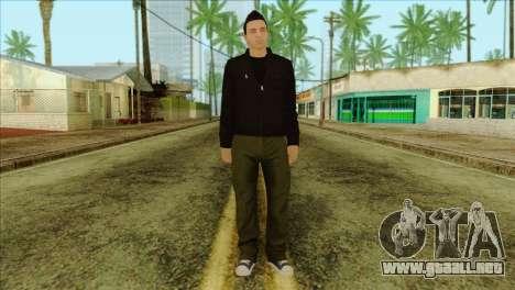 Claude from GTA 5 para GTA San Andreas