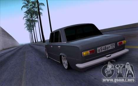 VAZ 2101 БПАN para GTA San Andreas vista hacia atrás