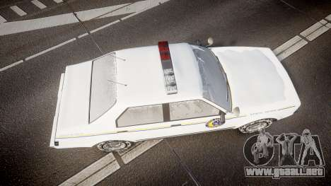 GTA V Albany Police Roadcruiser para GTA 4 visión correcta