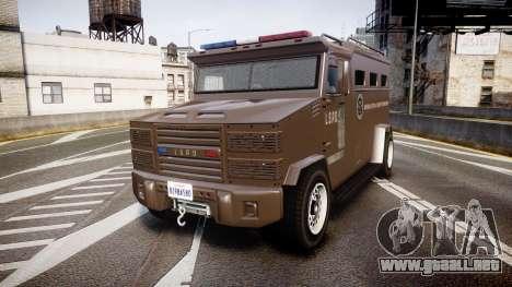 GTA V Brute Police Riot [ELS] skin 1 para GTA 4