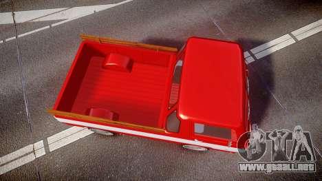 Dodge A100 Pickup 1964 para GTA 4 visión correcta