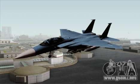 McDonnell Douglas F-15D Eagle GRDF para GTA San Andreas