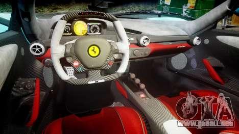 Ferrari LaFerrari 2013 HQ [EPM] PJ1 para GTA 4 vista interior