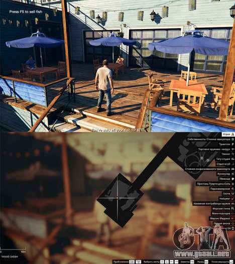 La pesca para GTA 5