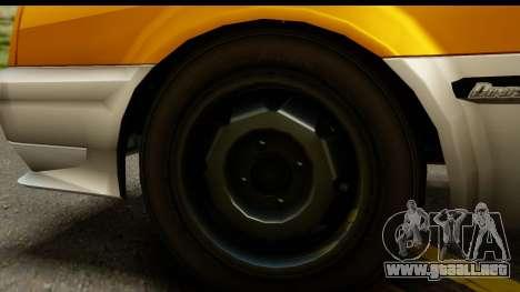 GTA 4 Blista Compact para GTA San Andreas vista hacia atrás