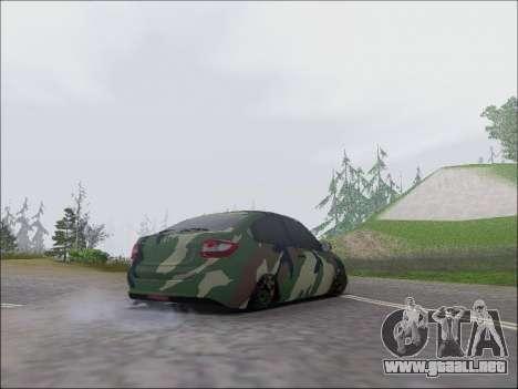 Lada Granta Liftback Coupe para la visión correcta GTA San Andreas