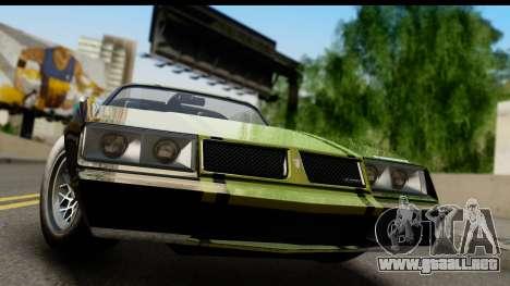 GTA 5 Imponte Phoenix IVF para GTA San Andreas vista posterior izquierda