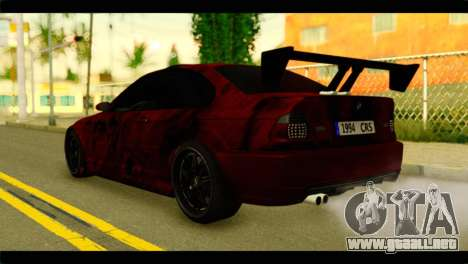 BMW 330 Tuning Red Dragon para GTA San Andreas left