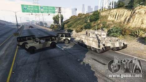 GTA 5 Soldados con 5 estrellas cuarto captura de pantalla