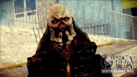 Verdugo Resident Evil 4 Skin para GTA San Andreas tercera pantalla