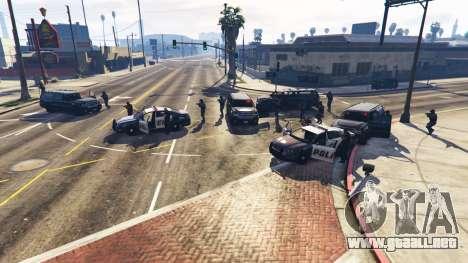 GTA 5 Hardcore Police Chasing