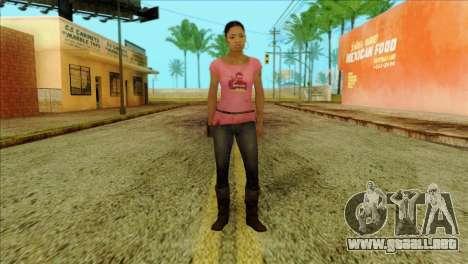 Rochelle from Left 4 Dead 2 para GTA San Andreas