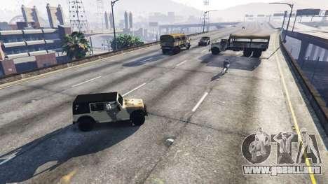 GTA 5 Soldados con 5 estrellas segunda captura de pantalla