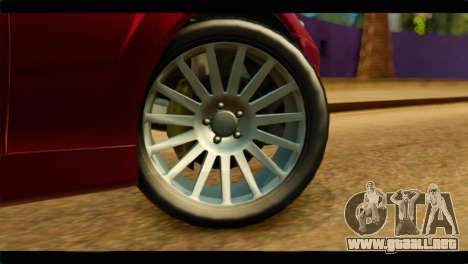 MP3 Dewbauchee XSL650R para GTA San Andreas vista posterior izquierda