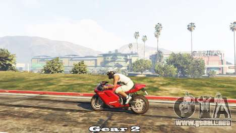Transmisión Manual para GTA 5