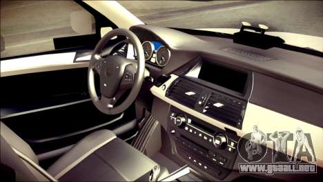 BMW X5 Kent Police RPU para la visión correcta GTA San Andreas