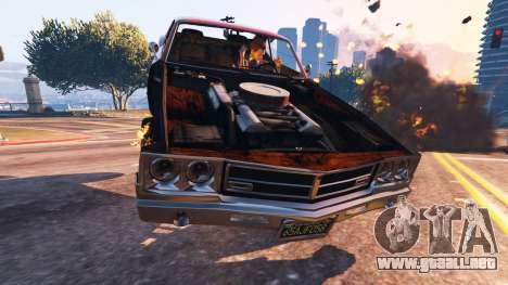 GTA 5 El debilitamiento del vehículo