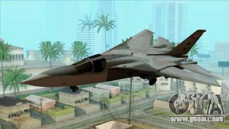 General Dynamics F-111 Aardvark para GTA San Andreas